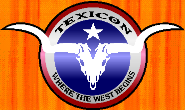 texicon logo fort worth texas sheraton hotel game convention tabletop top table gaming